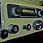 console & radio